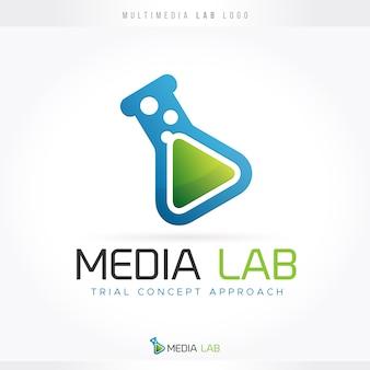 Logotipo do laboratório multimídia