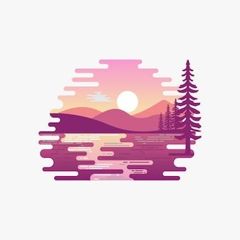 Logotipo do lago