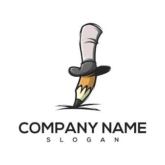 Logotipo do lápis mágico