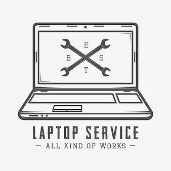 Logotipo do laptop