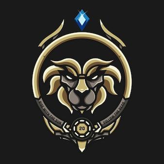 Logotipo do lion space esport