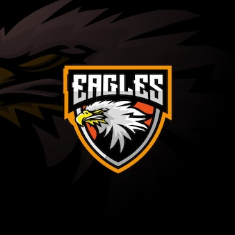 Logotipo do mascote da águia.