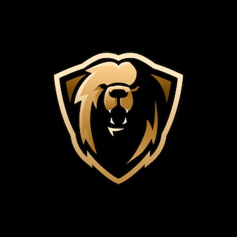 Logotipo do mascote da equipe esport