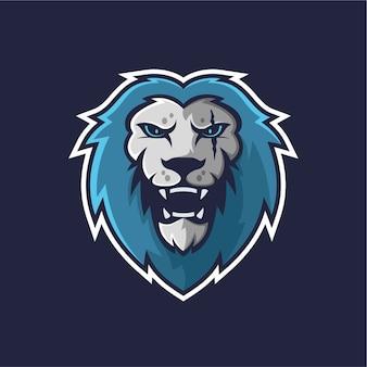 Logotipo do mascote do leão