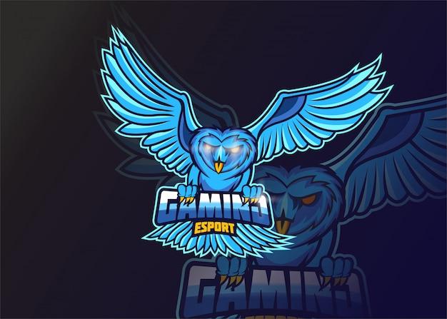 Logotipo do mascote do porco selvagem para esportes e esportes eletrônicos isolado em fundo escuro