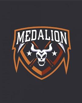 Logotipo do medalhão