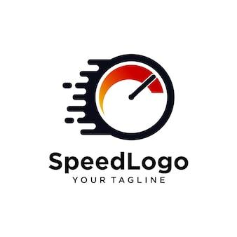 Logotipo do medidor de velocidade