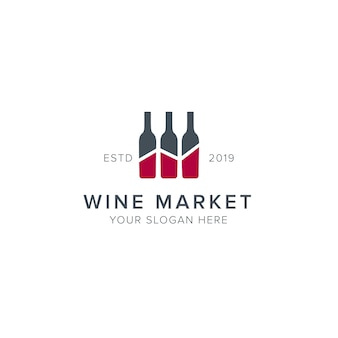 Logotipo do mercado de vinhos