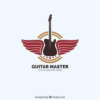 Logotipo do mestre da guitarra