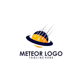 Logotipo do meteoro
