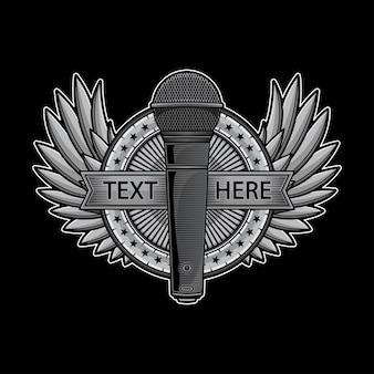 Logotipo do microfone