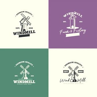 Logotipo do moinho de vento