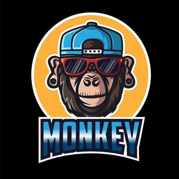 Logotipo do monkey squad esport