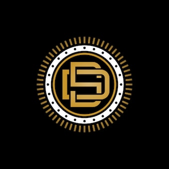 Logotipo do monograma d & s