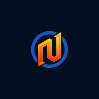 Logotipo do monograma n