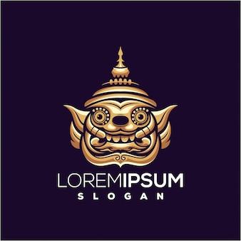 Logotipo do monstro (yaksha tailandês)