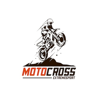 Logotipo do motocross