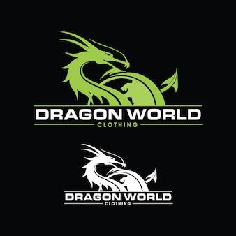Logotipo do mundo do dragão