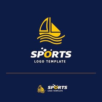 Logotipo do navio de esportes
