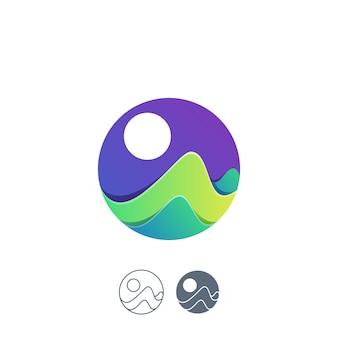 Logotipo do oceano