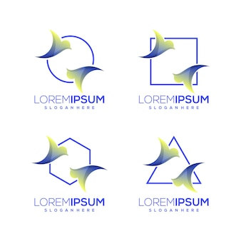 Logotipo do pacote de pássaros