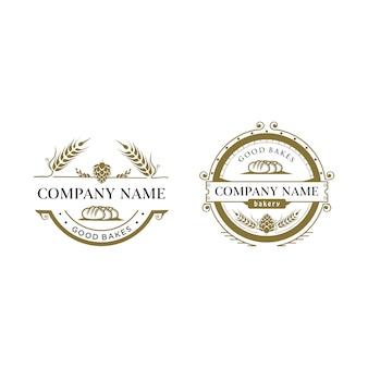 Logotipo do padaria do vintage