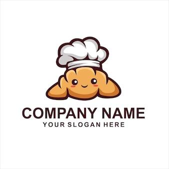 Logotipo do pão fofo