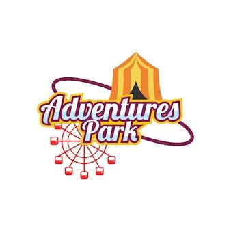 Logotipo do parque de diversões