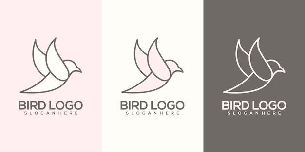 Logotipo do pássaro