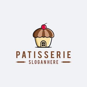 Logotipo do patisserie do padeiro