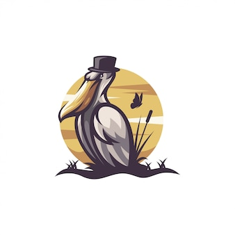 Logotipo do pelicano