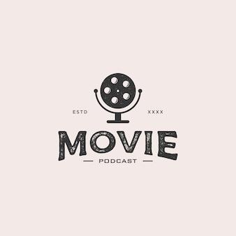 Logotipo do podcast do filme