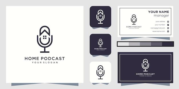 Logotipo do podcast doméstico