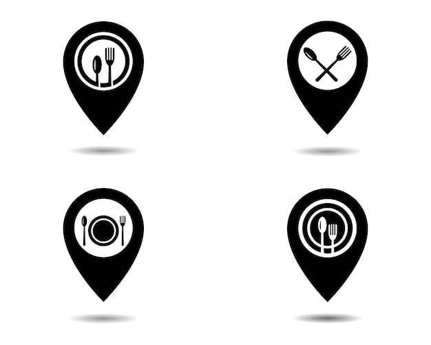Logotipo do ponto de localização