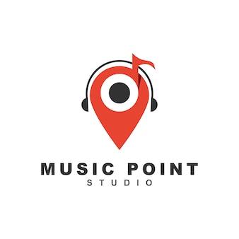 Logotipo do ponto de música