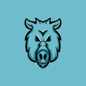 Logotipo do porco