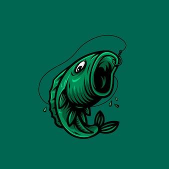 Logotipo do projeto de peixe