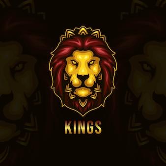Logotipo do rei leão esport
