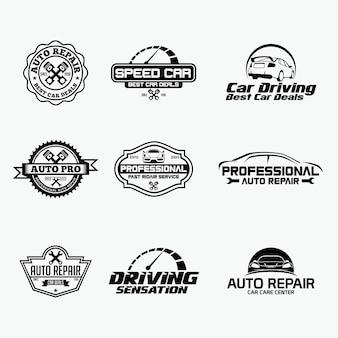 Logotipo do reparo do carro