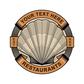 Logotipo do restaurante clam