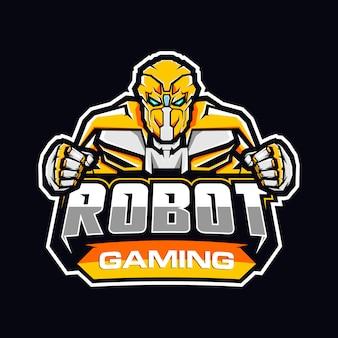 Logotipo do robô de jogos