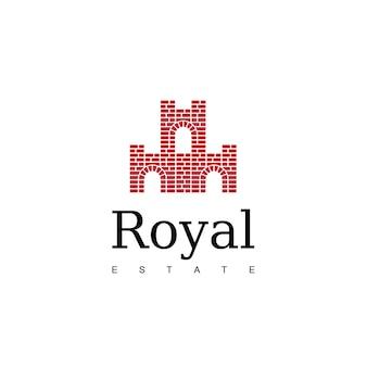 Logotipo do royal estate