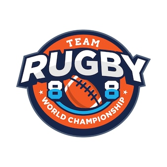 Logotipo do rugby sport