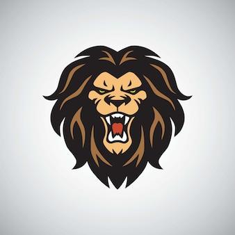 Logotipo do rugido do leão