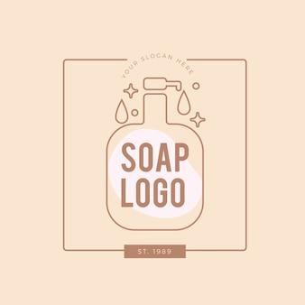 Logotipo do sabonete mínimo
