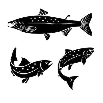 Logotipo do salmão