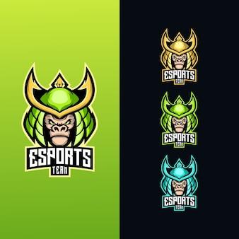 Logotipo do samurai esport