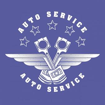 Logotipo do serviço de reparo automático