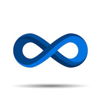 Logotipo do símbolo do infinito