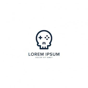 Logotipo do skull game